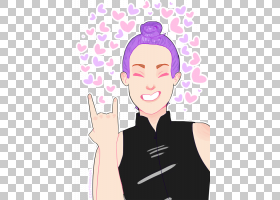 手臂脸颊面部表情脸,海莉威廉姆斯PNG剪贴画紫色,脸,手,人,头,卡图片