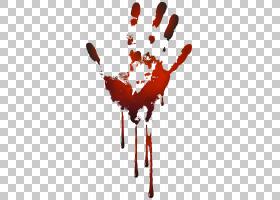 血腥手印,红棕榈打印PNG剪贴画万圣节快乐,摄影,剪贴画,心脏,桌面