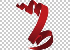 红丝带,画红丝带PNG剪贴画爱,水彩画,功能区,文本,心,节日元素,生