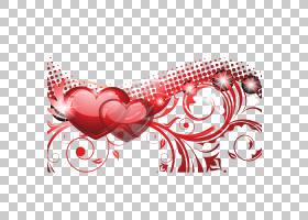 红色,爱红色背景图形PNG剪贴画爱,文本,心,节日元素,心,封装的Pos