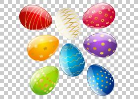 红色复活节彩蛋,透明复活节装饰鸡蛋套,复活节彩蛋插图PNG剪贴画