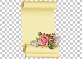 纸羊皮纸纸莎草纸卷复活节,滚动纸PNG剪贴画杂项,摄影,其他,花卉,