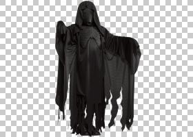 长袍dementor万圣节服装哈利波特,哈利波特PNG剪贴画儿童,万圣节