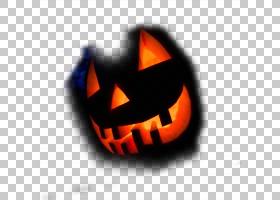 面具万圣节恐怖,恐怖面具PNG剪贴画橙色,电脑壁纸,面具,封装的Pos