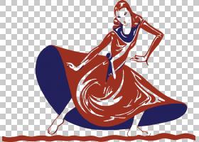 舞蹈艺术节,舞者PNG剪贴画人民,卡通,虚构人物,女人,肌肉,加尔巴,