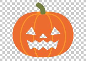 表情符号,万圣节,杰克o灯笼艺术PNG剪贴画灯笼,食品,假期,橙色,水