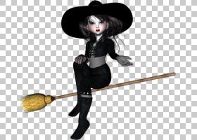 巫术动画电影,巫婆PNG剪贴画万圣节快乐,时尚插画,桌面壁纸,娃娃,