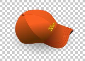 帽子帽,棒球帽PNG剪贴画帽子,橙色,分享,版权,产品,产品设计,质量