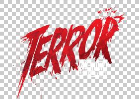 恐怖平面设计YouTube徽标,恐怖,恐怖标志PNG剪贴画爱情,文字,电影