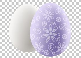 复活节彩蛋紫色设计,透明复活节彩蛋装饰PNG剪贴画紫罗兰,丁香,rG