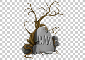 墓碑图标,万圣节RIP墓碑和树,RIP墓碑图PNG剪贴画万圣节快乐,公墓