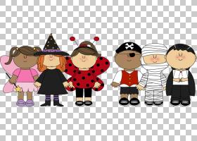 捣蛋万圣节服装,万圣节PNG剪贴画孩子,假期,万圣节服装,电脑,友谊