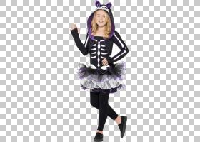 服装派对万圣节服装儿童服装,儿童PNG剪贴画紫色,儿童,紫罗兰色,
