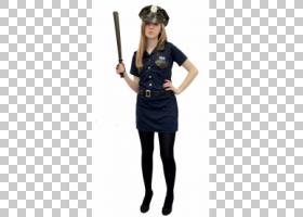服装派对服装警察女人,女人PNG剪贴画警察,万圣节服装,人,时尚,服