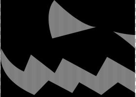 杰克南瓜灯南瓜万圣节,邪恶的PNG剪贴画角,灯笼,标志性,对称性,单
