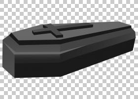 棺材,黑棺材,黑色和灰色棺材插图PNG剪贴画角度,万圣节快乐,矩形,
