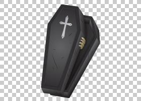 棺材万圣节,万圣节黑棺材,黑色棺材插图PNG剪贴画万圣节快乐,剪贴