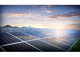 太阳能主题新能源海报模板设计
