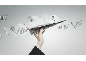 互联网商务金融主题海报通用模板设计