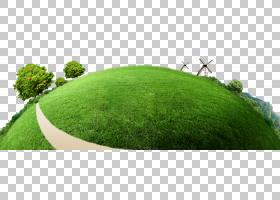 海报环保,绿色地球PNG剪贴画环境,草,横幅,绿苹果,人造草坪,草坪,