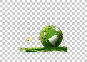 地球自然环境环境友好,绿色地球PNG剪贴画全球,环境,电脑壁纸,草,
