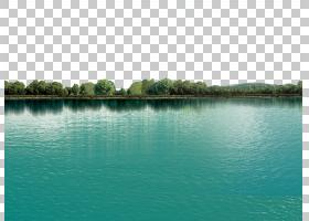 湖美丽,湖,风景摄影的树木和水体PNG剪贴画蓝色,风景,草,池塘,封