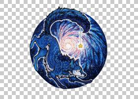 蓝狼PNG剪贴画蓝色,png材料,生日快乐矢量图像,狼,卡通,封装的Pos