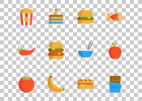 快餐垃圾食品,垃圾食品PNG剪贴画食品,橙色,水果,矢量图标,包,线,