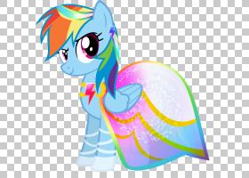 Rainbow Dash Rarity Pony Pinkie Pie Applejack,彩虹PNG剪贴画