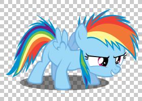 Rainbow Dash My Little Pony Rarity Pinkie Pie,彩虹PNG剪贴画