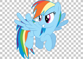 Rainbow Dash My Little Pony,彩虹PNG剪贴画哺乳动物,脊椎动物,