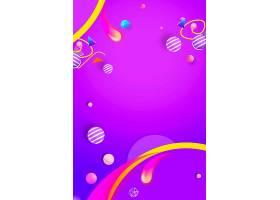 紫色渐变创意618促销海报通用背景模板图片