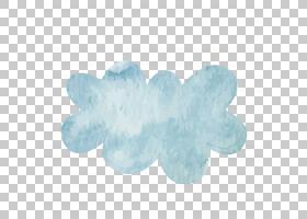 计算机文件,水彩云PNG剪贴画水彩画,水彩叶子,云,水彩矢量,颜色,