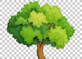 卡通前景树PNG剪贴画叶蔬菜,儿童,叶,免版税,森林,股票摄影,植物,图片