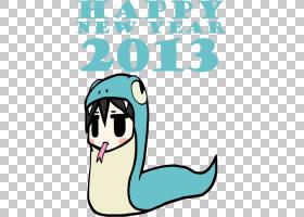 不会飞的鸟La voix,新年快乐PNG剪贴画动物,假期,文本,蓝绿色,卡
