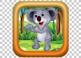 Koala脊椎动物有袋动物哺乳动物,考拉PNG剪贴画哺乳动物,动物,脊图片