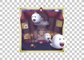 超级马里奥64 Big Boo Art Wii,嘘PNG剪贴画紫色,英雄,任天堂,绘图片
