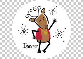 驯鹿哺乳动物动物脊椎动物PNG clipart角,哺乳动物,脊椎动物,卡通图片