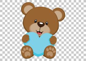 熊纸婴儿淋浴儿童,字体PNG剪贴画哺乳动物,棕色,动物,carnivoran,图片