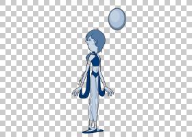 珍珠扇艺术宝石蓝珍珠粉PNG剪贴画宝石,蓝色,手,脊椎动物,男孩,人图片