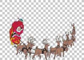 圣诞老人圣诞节做Re-Mi儿童合唱动画PNG剪贴画鹿角,哺乳动物,脊椎