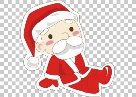 圣诞老人圣诞节装饰品圣诞老人PNG clipart杂项,食品,生日快乐矢