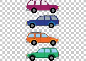 汽车,卡通车PNG剪贴画紧凑型汽车,汽车,运输方式,卡通,运输,免版