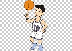 篮球运动员运动卡通青少年篮球运动员材料PNG剪贴画游戏,儿童,手,图片