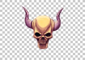 头骨恶魔绘图恶魔,头骨PNG剪贴画虚构人物,deviantArt,桌面壁纸,图片