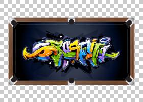 涂鸦Wildstyle Drawing,斯诺克PNG剪贴画杂项,创意市场,斯诺克,画