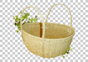 篮子,创意竹制工艺品PNG剪贴画创意艺术品,创意广告,封装的PostSc图片