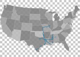 美国铁路运输地图全球地理,铁轨PNG剪贴画地球仪,美国,铁路运输,图片