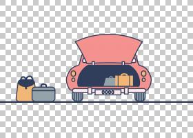 汽车欧几里德汽车设计插图,可爱驾驶PNG剪贴画驾驶,生日快乐矢量图片