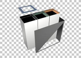 回收箱金属表垃圾箱和废纸篓,回收站PNG剪贴画杂项,角度,家具,矩